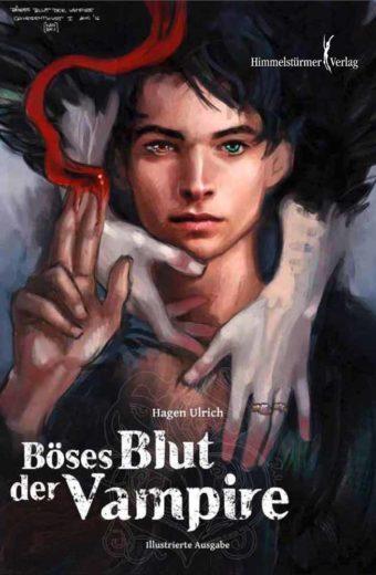 Böses Blut der Vampire von Hagen Ulrich - illustriertes Hardcover